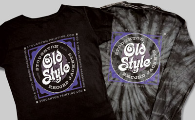 Stoughton Old Style® Record Jackets tshirts