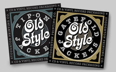 Old Style Tip-On Jackets® and Old Style Gatefold Jackets® stickers