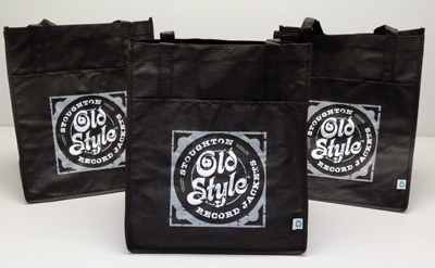 Stoughton Old Style® Record Jackets recyclable bags